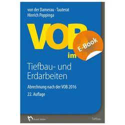 VOB im Bild – Tiefbau- und Erdarbeiten – E-Book (PDF) von Poppinga,  Hinrich