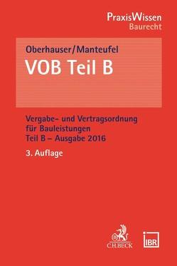 VOB Teil B von Manteufel,  Thomas, Oberhauser,  Iris