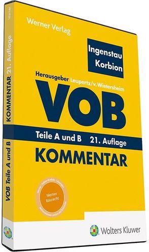 VOB Teile A und B ( DVD ) von Ingenstau,  Heinz, Korbion,  Hermann, Leupertz,  Stefan, von Wietersheim,  Mark