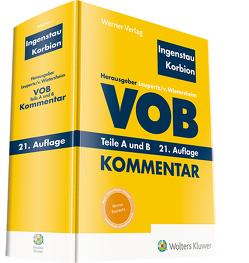 VOB Teile A und B von Ingenstau,  Heinz, Korbion,  Hermann, Leupertz,  Stefan, von Wietersheim,  Mark