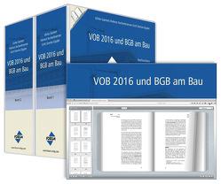 VOB und BGB am Bau von Aschenbrenner,  Helmut, Diercks-Oppler,  Gritt, Gantert,  Ulrike