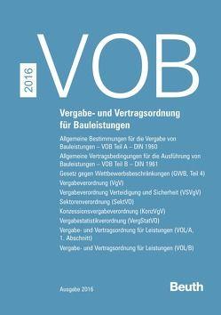 VOB Zusatzband 2016