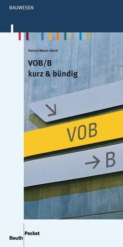 VOB/B von Meyer-Abich,  Helmut