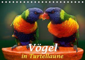 Vögel in Turtellaune (Tischkalender 2018 DIN A5 quer) von Brunner-Klaus,  Liselotte