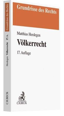 Völkerrecht von Herdegen,  Matthias