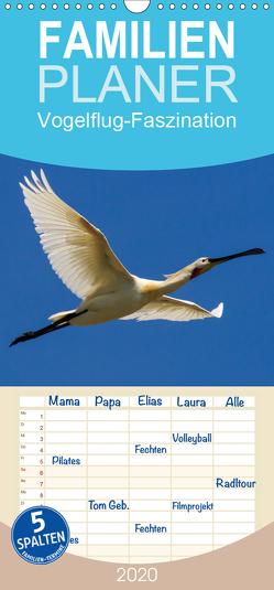 Vogelflug-Faszination – Familienplaner hoch (Wandkalender 2020 , 21 cm x 45 cm, hoch) von Eisenreich,  Wilhelm