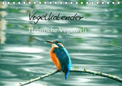 Vogelkalender (Tischkalender 2019 DIN A5 quer) von Fofino