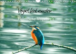 Vogelkalender (Wandkalender 2019 DIN A4 quer) von Fofino
