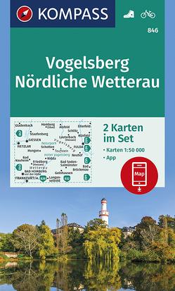 Vogelsberg, Nördliche Wetterau von KOMPASS-Karten GmbH