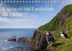 Vogelwelt und Landschaft der Färöer (Tischkalender 2019 DIN A5 quer) von Utelli,  Anna-Barbara