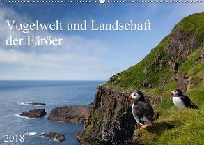 Vogelwelt und Landschaft der Färöer (Wandkalender 2018 DIN A2 quer) von Utelli,  Anna-Barbara