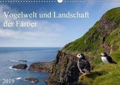 Vogelwelt und Landschaft der Färöer (Wandkalender 2019 DIN A3 quer) von Utelli,  Anna-Barbara
