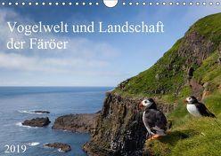 Vogelwelt und Landschaft der Färöer (Wandkalender 2019 DIN A4 quer) von Utelli,  Anna-Barbara