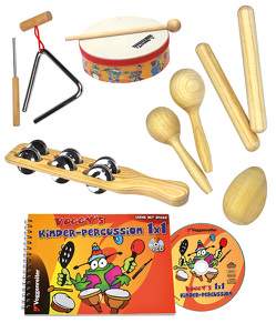 Voggy's Kinder-Percussion-Set von Abendroth,  Yasmin