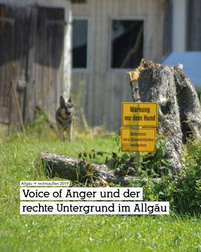 Voice of Anger und der rechte Untergrund im Allgäu von Lipp,  Sebastian