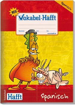Vokabel-Häfft Spanisch (DIN A5) von Andy & Stefan, Klingberg,  Stefan