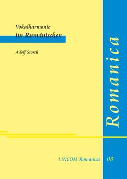 Vokalharmonie im Rumänischen von Storch,  Adolf