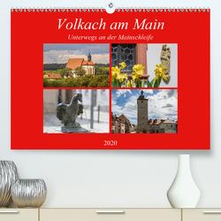 Volkach am Main (Premium, hochwertiger DIN A2 Wandkalender 2020, Kunstdruck in Hochglanz) von Will,  Hans