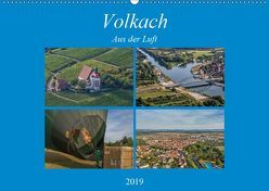 Volkach aus der Luft (Wandkalender 2019 DIN A2 quer) von Will,  Hans
