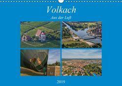 Volkach aus der Luft (Wandkalender 2019 DIN A3 quer) von Will,  Hans