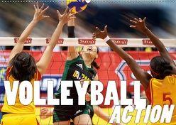 Volleyball Action (Wandkalender 2018 DIN A2 quer) von Robert,  Boris