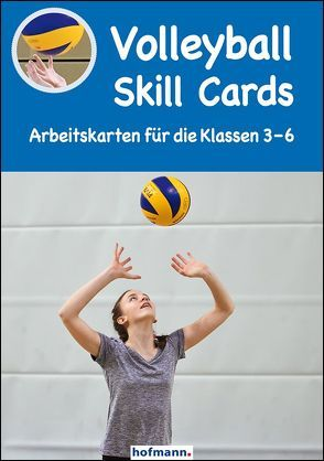 Volleyball Skill Cards von Kröger,  Christian, Warm,  Michael
