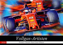 Vollgas-Artisten (Wandkalender 2020 DIN A3 quer) von Glineur alias DeVerviers,  Jean-Louis