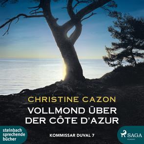 Vollmond über der Côte d'Azur von Cazon,  Christine, Heidenreich,  Gert