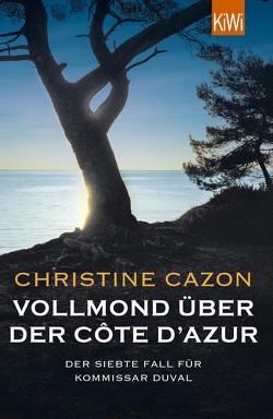 Vollmond über der Côte d'Azur von Cazon,  Christine