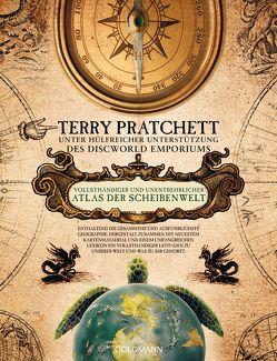 Vollsthändiger und unentbehrlicher Atlas der Scheibenwelt von Jung,  Gerald, Pratchett,  Terry