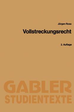 Vollstreckungsrecht von Rosa,  Jürgen