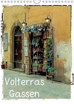 Volterras Gassen (Wandkalender 2019 DIN A4 hoch) von Hampe,  Gabi
