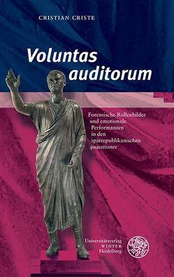 'Voluntas auditorum' von Criste,  Cristian