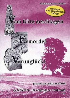 Vom Blitz erschlagen – Ermordet – Verunglückt. Geschichten um vergessene Denkmale von Seyffarth,  Edith, Seyffarth,  Joachim