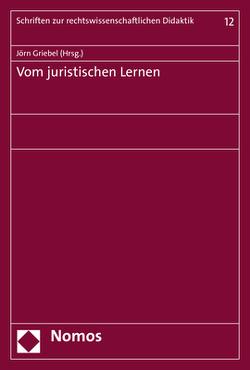 Vom juristischen Lernen von Griebel,  Joern