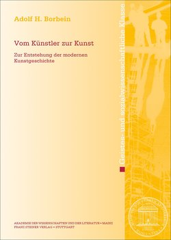 Vom Künstler zur Kunst von Borbein,  Adolf H
