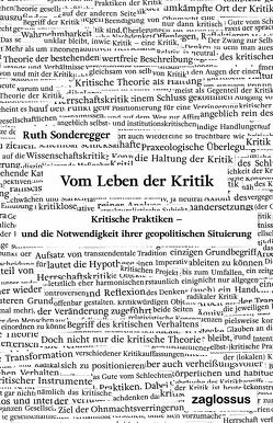 Vom Leben der Kritik von Sonderegger,  Ruth