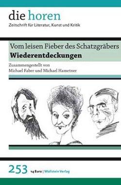 Vom leisen Fieber des Schatzgräbers von Faber,  Michael, Hametner,  Michael