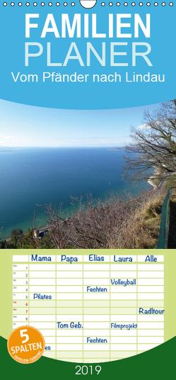Vom Pfänder nach Lindau – Familienplaner hoch (Wandkalender 2019 , 21 cm x 45 cm, hoch) von Kepp,  Manfred