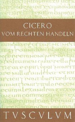 Vom rechten Handeln von Büchner,  Karl, Cicero