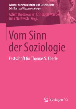 Vom Sinn der Soziologie von Brosziewski,  Achim, Maeder,  Christoph, Nentwich,  Julia
