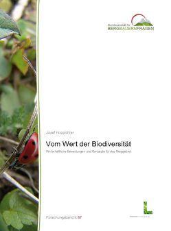 Vom Wert der Biodiversität von Hoppichler,  Josef