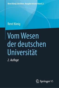Vom Wesen der deutschen Universität von Thurn,  Hans Peter
