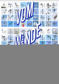 Vom Winde Verdreht (Wandkalender 2021 DIN A2 hoch) von Haafke,  Udo