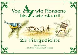 Von A wie Nonsens bis Z wie skurill von Gebhardt,  Manfred, Geisler,  Manfred