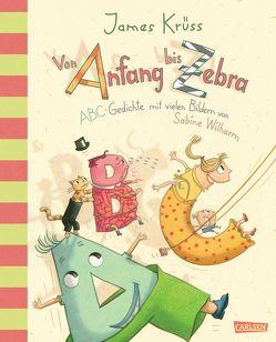 Von Anfang bis Zebra – ABC Gedichte mit vielen Bildern von Sabine Wilharm von Krüss,  James, Wilharm,  Sabine
