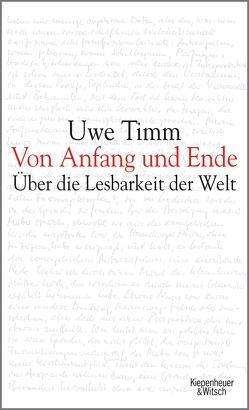 Von Anfang und Ende von Timm,  Uwe