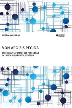 Von APO bis Pegida. Erscheinungsformen des Populismus im linken und rechten Spektrum von Ambrosiak,  Martin