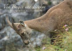 Von Bergen und Böcken (Wandkalender 2019 DIN A3 quer) von Schaefgen,  Matthias