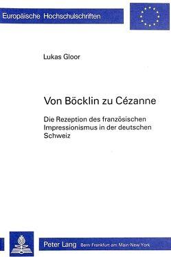 Von Böcklin zu Cézanne